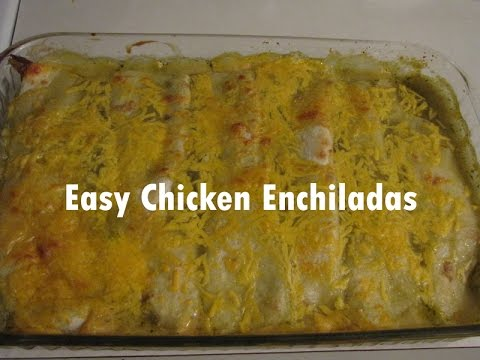 Easy and Simple Chicken Enchilada for Beginners