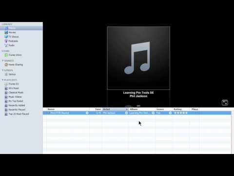 Pro Tools® SE - Burning your Mix to CD - Windows 7