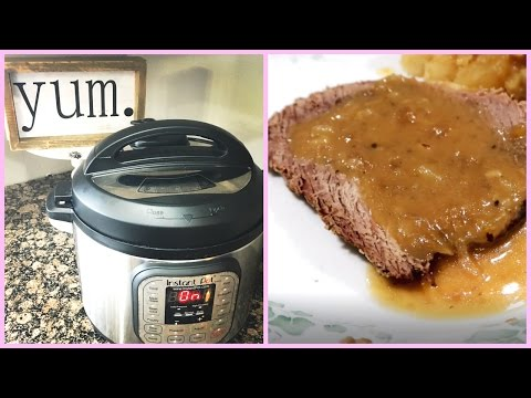 Easy Pot Roast ~ Instant Pot ~ Pressure Cooker