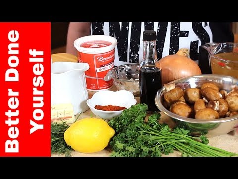 Hungarian Mushroom Soup Instant Pot Recipe