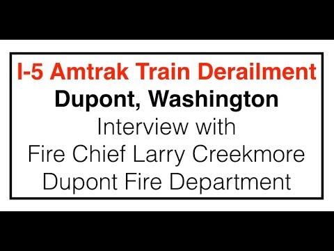 Amtrak Train Derailment - December 18, 2017 - Interview