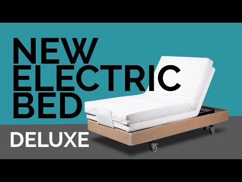 DELUXE, New electric bed