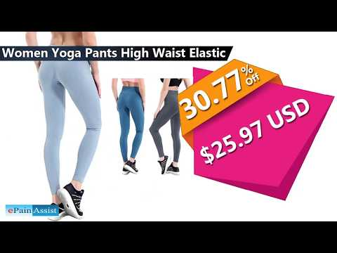 Buy Women Yoga Pants & Fitness Sports Leggings at Discounted Prices with Free Worldwide Shipping