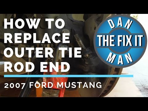 2007 Ford Mustang Outer Tie Rod End Replacement