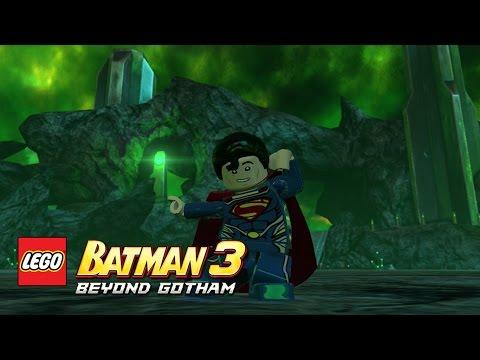 LEGO Batman 3: Beyond Gotham - Superman (Man of Steel) Oa free roam