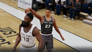 NBA Live 18 The One - Drew League vs LeBron and Harden!