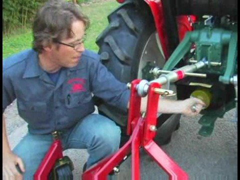 How to Drive & Operate a Tractor : PTO Clutch on a Tractor: How It Works