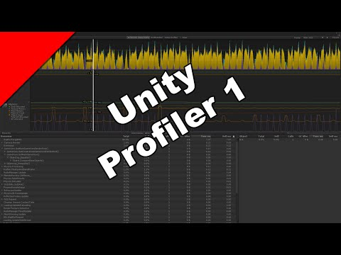 Unity Profiler 1 - Introduction