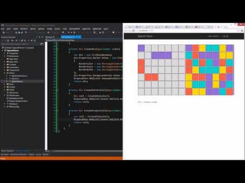 C# to JavaScript Demo