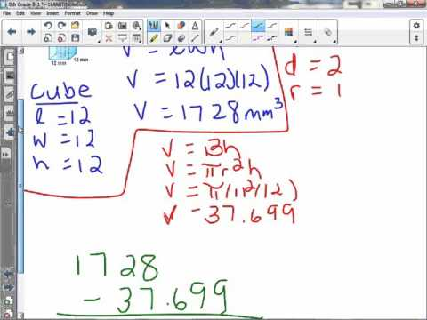 8th Grade 8-1: Volume of Cylinders