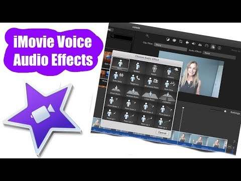 iMovie Tutorial: How to Create Voice Audio Effects