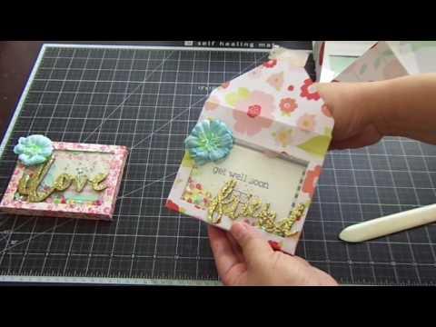 Envelope Shaker Box & Card Set/Tutorial