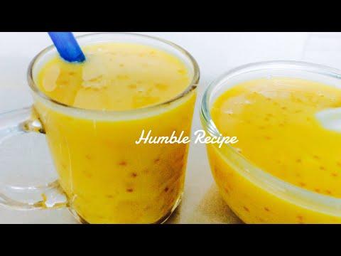 PUMPKIN SAGO DESSERT SOUP Easiest Method & all time favorite hot or cold