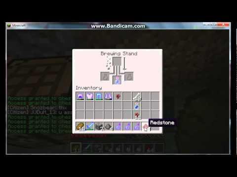 Minecraft - How to make Splash Potion of Poision