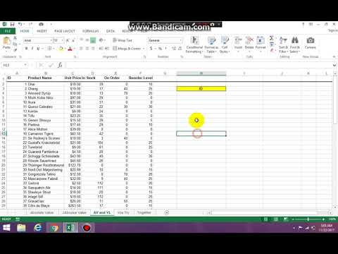 Creating the top portion of your Vlookup