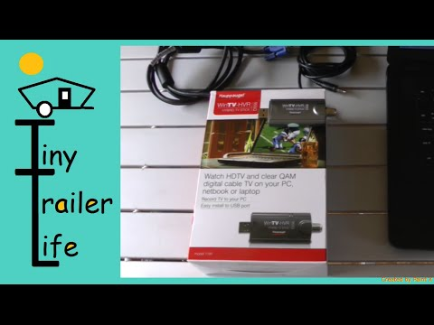 Record FREE Antenna TV DVR With  Laptop/Computer using WinTV-HVR 955Q and MoHu Antenna