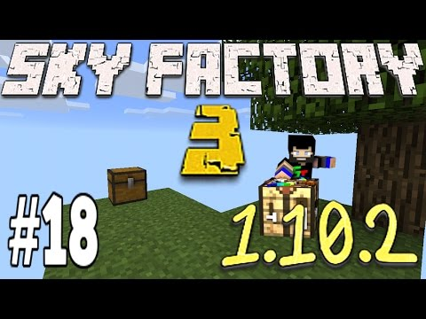 Minecraft Sky Factory 3 1.10.2 - Tool Upgrades The Nether And Blaze Spawners (18)