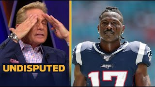 UNDISPUTED   Skip Bayless react to Antonio Brown gets 8-game suspension, Will AB comeback?