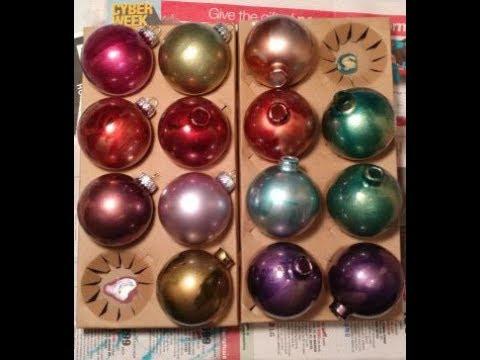 DIY Alcohol Ink Ornaments