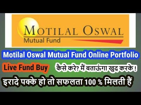 Motilal Oswal Mutual Fund Online Portfolio | Multicap Fund Buy Live | Hindi