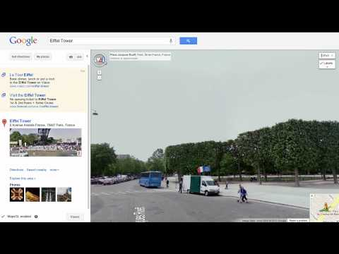Street View in Google Maps