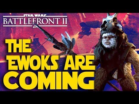 Ewok Hunt Update this week!!! - Star Wars Battlefront II Live Stream