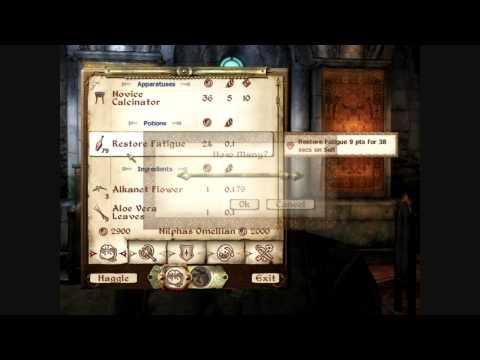 Oblivion - LP - Episode 53 - Making Money w/ Alchemy
