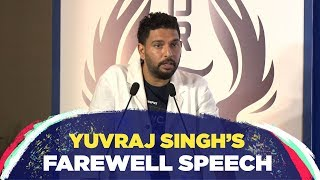 'Cricket has taught me never to give up till my last breath' - Yuvraj