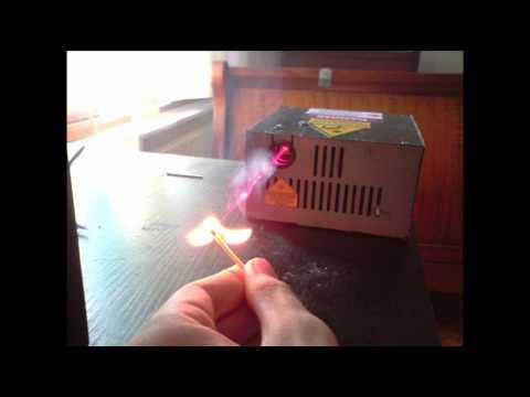 500mW red burning laser (homemade)