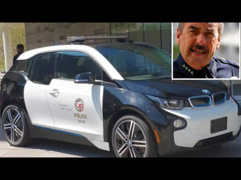 LAPD spent millions on green; electric BMWs used for joyrides to nail salons, day lunches