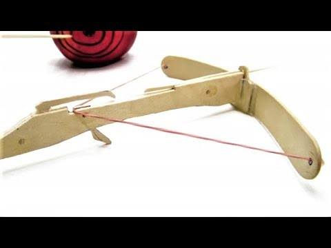 Assassin's Crossbow from Popsicle Sticks