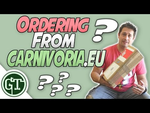 Buying Carnivorous Plants Online: Carnivoria.eu   Unboxing Nepenthes - Nep Vlog 2