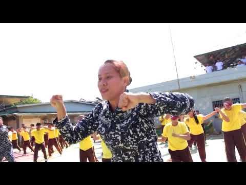 Puerto Princesa City Jail Dancing Inmates and Jail Officers
