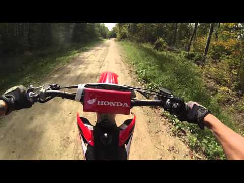 2015 crf250r and 2014 yz250f trail riding (Part1)