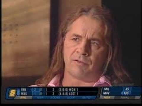 Bret Hart talking about his new book