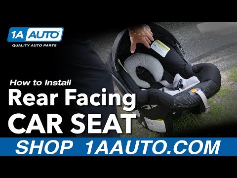 How to Install Rear-Facing Child Car Seat