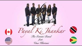 The Gemini Band Ft Vina Khetani - Payal Ki Jhankar (2021 Remastered Version)