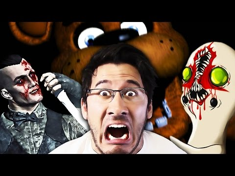 Random Horror Reaction Compilation #9: Five Nights at Freddy's, Outlast, SCP, and MORE!!