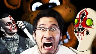 Random Horror Reaction Compilation #9: Five Nights at Freddy