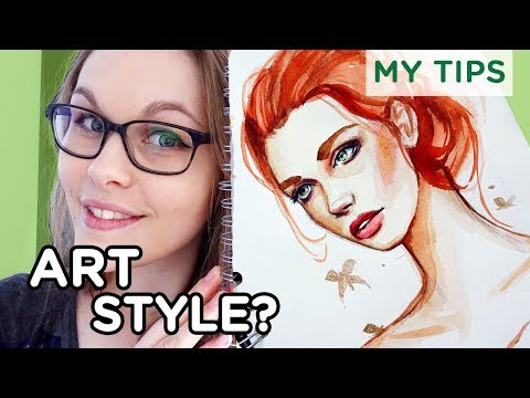 How To Find YOUR Art Style 【My Tips & Tricks】