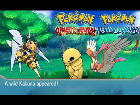 Pokemon Omega Ruby and Alpha Sapphire HOW TO CATCH/FIND KAKUNA + PIDGEOTTO + ABSOLITE!