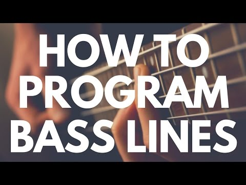 Programming Bass Lines (For Hip Hop Producers)