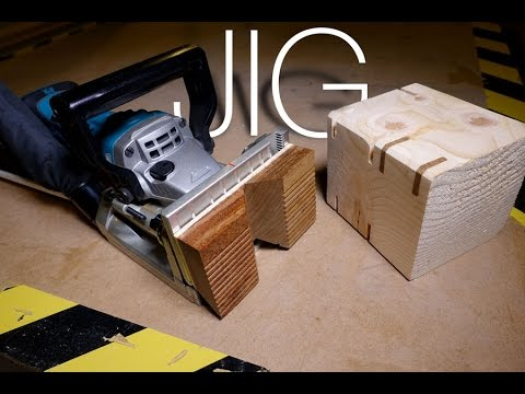 Make a Splines Jig With Biscuit Joiner