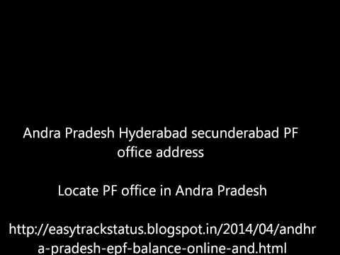 Andra Pradesh EPF online balance and EPFO office Andra