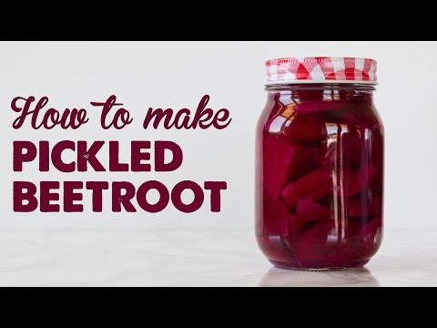 How to Make Pickled Beetroot   A Thousand Words