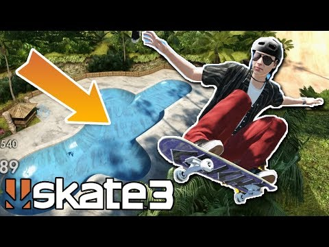 Skate 3: IMPOSSIBLE DANNY WAY POOL GAP CHALLENGE?!