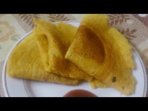 Traditional Gujarati pudla without non stick tawa/ बनाये बीना नोनस्टीक के चिल्ला/પુઽલા સાદી લોઢી પર/