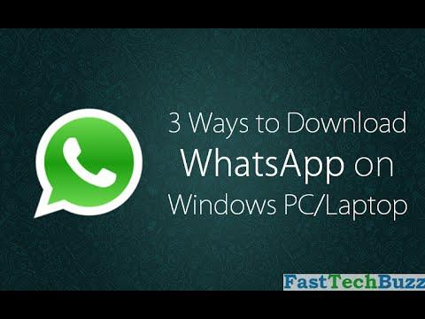 WhatsApp Web Version PC/MAC @ Web.WhatsApp.com