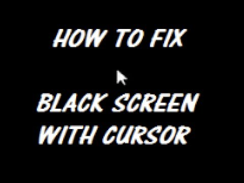 Windows 10 Black Screen Of Death FIX [Tutorial]