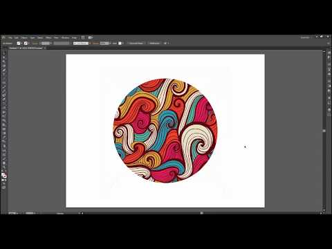 How to make Clipping Mask in Adobe Illustrator CS6 - Easy Way for Beginner
